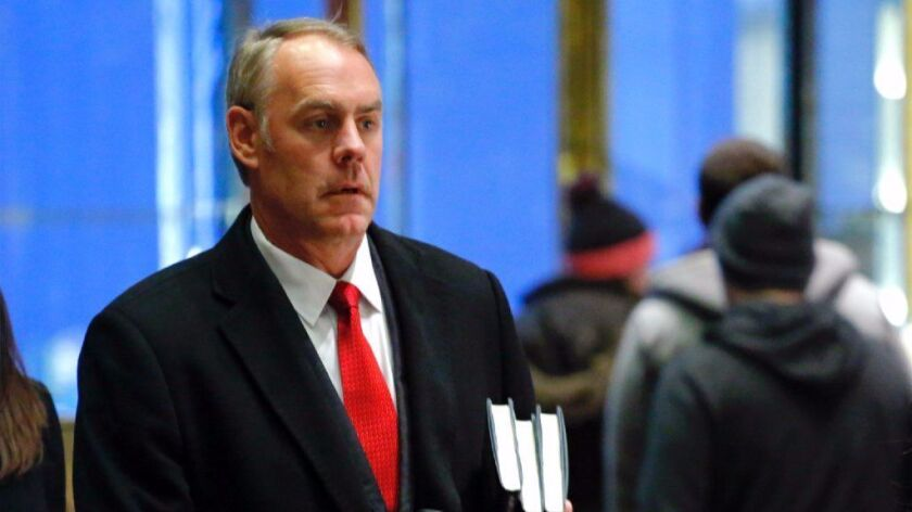 Zinke at Trump Tower
