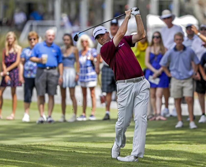 En la imagen, el golfista estadounidense Ryan Palmer. EFE/Archivo