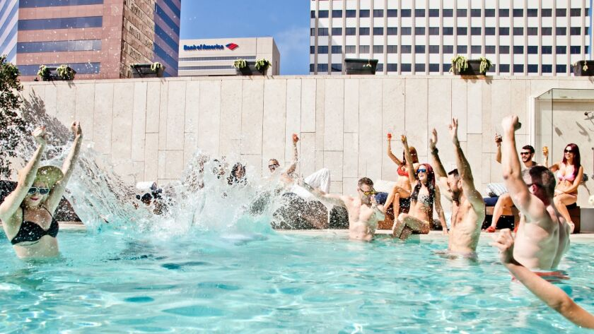 Level Four Pool Bar & Lounge kicks off the Labor Day festivities with four days of food, drink and games.