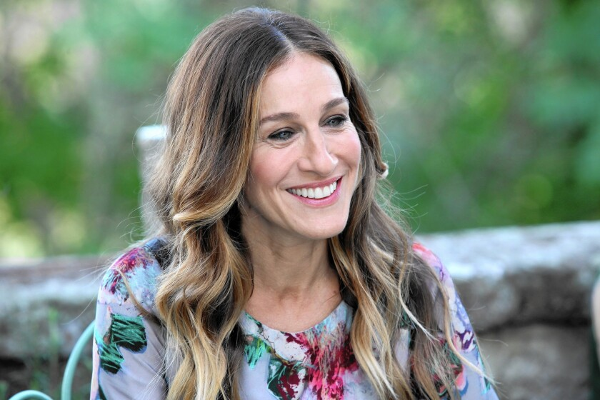 "A harried New Yorker (Sarah Jessica Parker) heads to Italy in ""All Roads Lead to Rome."""