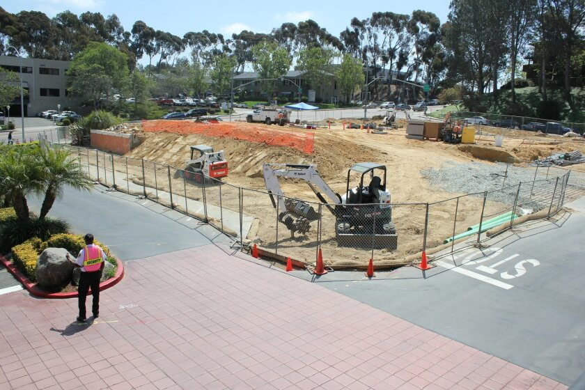 Construction is underway to replace what was once an El Torito restaurant with medical office space.