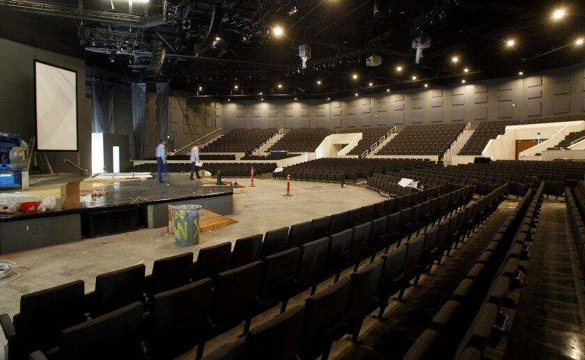 Skyline's soon-to-open, 2,000-seat sanctuary.