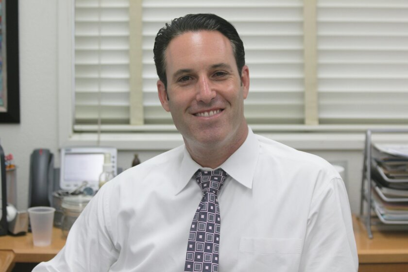 Muirlands Middle School Principal Harlan Klein beginning his first full year as the school's top administrator Sept. 10.