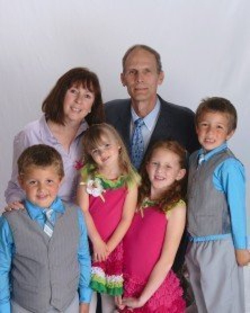 John and Betty Bonadeo with their children: (l-r) Peter, Katherine, Dorothea and David. Courtesy photo