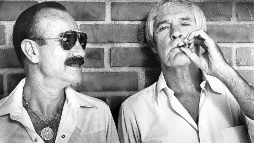 G. Gordon Liddy and Timothy Leary