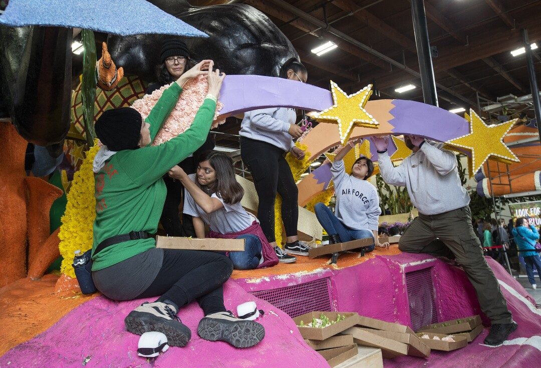 Honda float titled, The Power of Dreams, Our Hope for the Future,""