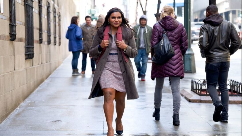 Mindy Kaling appears in <i>Late Night</i> by Nisha Ganatra, an official selection of the Premieres p
