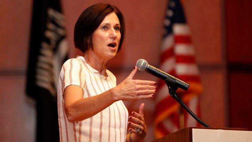 YORBA LINDA, CALIF. -- FRIDAY, SEPT. 29, 2017: Rep. Mimi Walters, who represents California's 45th