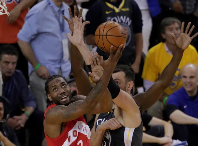 92-105. Leonard e Ibaka ponen a los Raptors a un triunfo del título de la NBA