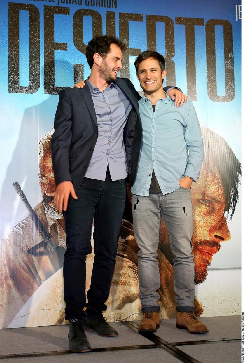 El largometraje Desierto, protagonizado por Gael García Bernal (der.) y Jeffrey Dean Morgan, buscará ser uno de los competidores en la categoría de Mejor Película Extranjera en los Óscar.