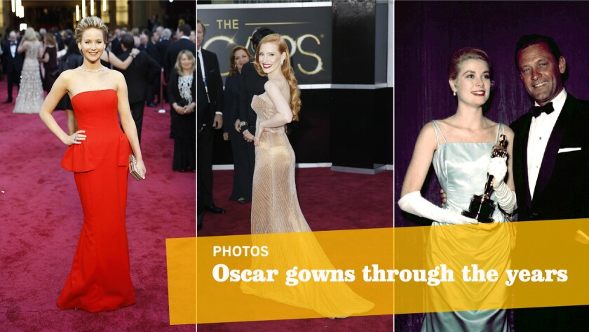 Oscars: The gowns