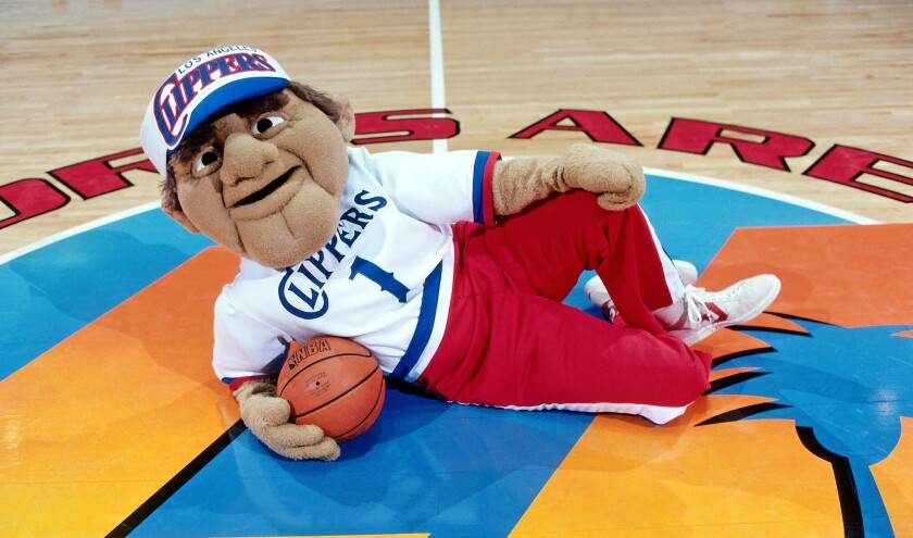 Being Clippers mascot was a losing effort 30 years ago