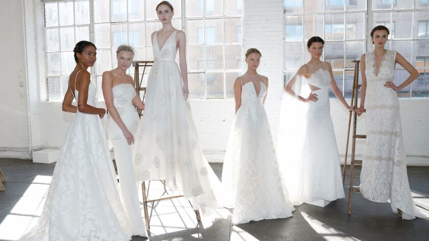 Elie Saab Wedding Dresses.Monique Lhuillier Elie Saab And Other Labels Turn Their Attention