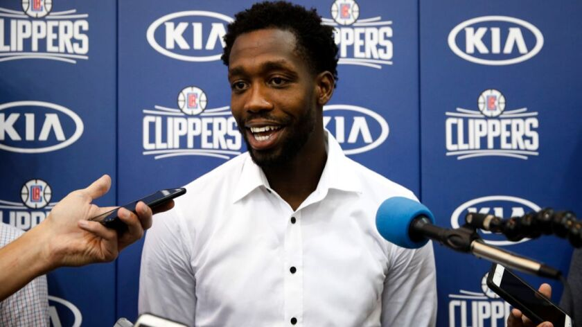 Patrick Beverley averaged 12.2 points, 4.1 rebounds and 2.9 assists in 11 games this season with the Clippers.