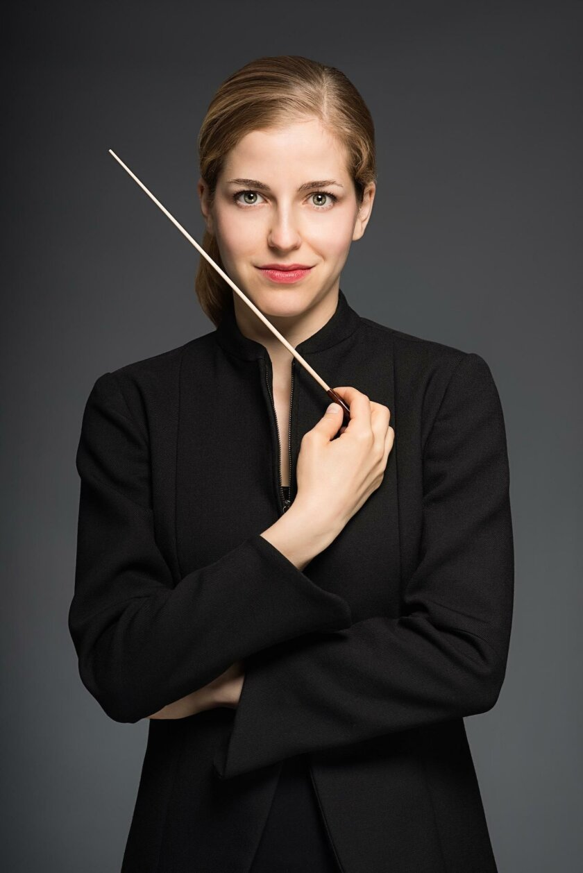 Guest conductor Karina Canellakis will start off San Diego Symphony's 'Upright & Grand' Piano Festival with 'Rhapsody in Blue' Jan. 8 and 10 and 'Beyond the Score' Jan. 9, 2016.