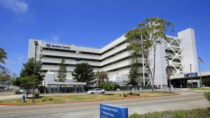 The VA Medical Center in San Diego.