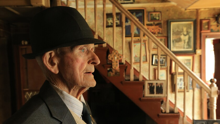 "Jack Sullivan, 101, in the documentary ""Older Than Ireland."""