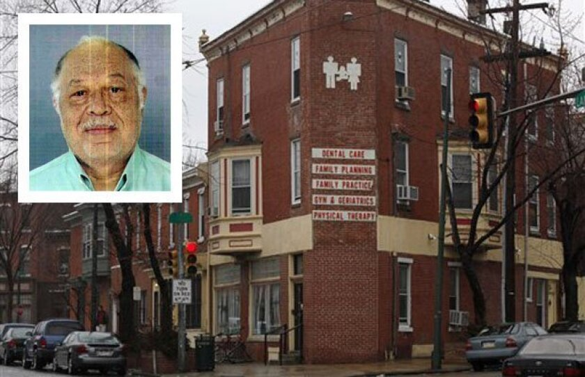 "Philadelphia abortion doctor Kermit Gosnell and his ""shop of horrors"" clinic."