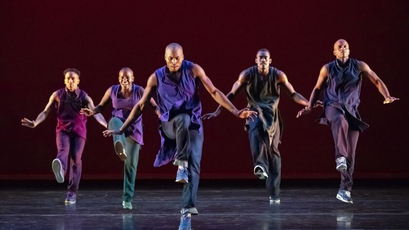 """Alvin Ailey performs """"Lazarus,"""" a work choreographed by Rennie Harris."""
