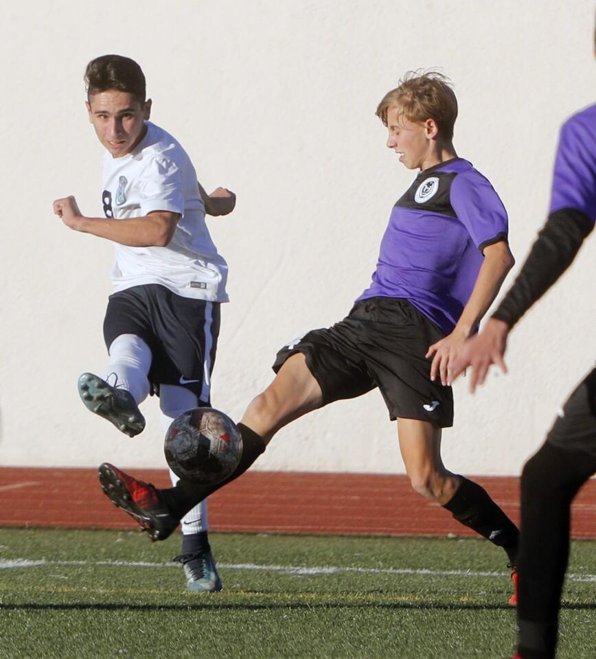 Photo Gallery: Crescenta Valley vs. Hoover boys' soccer