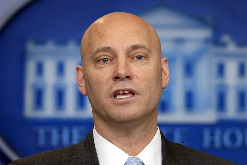 Marc Short is the closest aide to Vice President Mike Pence.