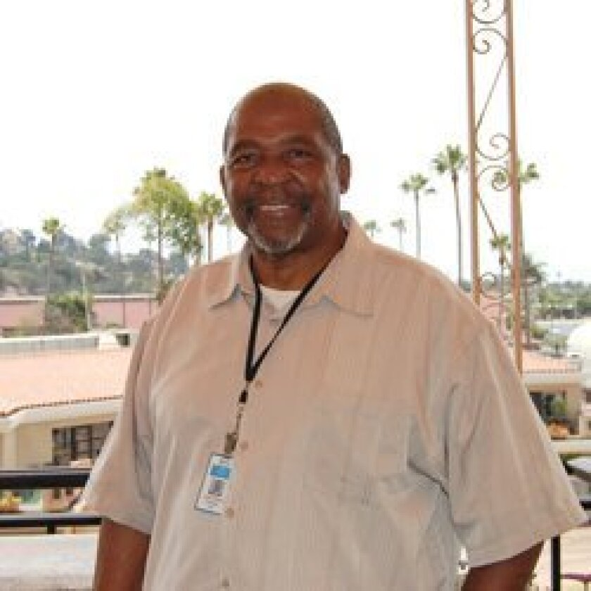 Leon Davis, janitorial foreman for the Del Mar Thoroughbred Club Photo by Kelley Carlson