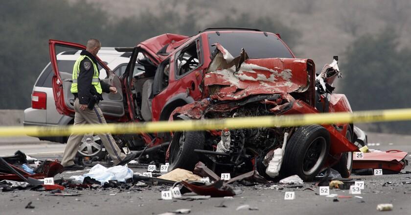 Teenage auto accident deaths