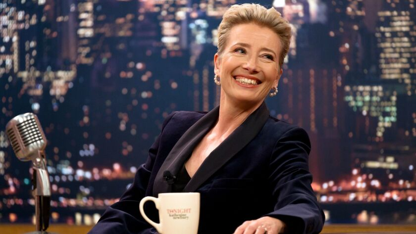 """Emma Thompson appears in """"Late Night"""" by Nisha Ganatra, an official selection of the Premieres progr"""