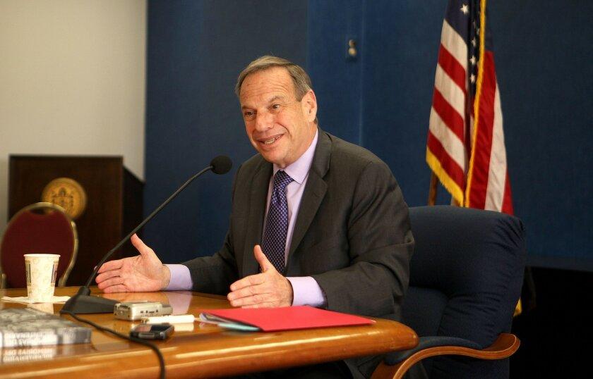 Mayor Bob Filner at a press conference in February.