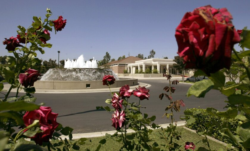 FILE - This July 26, 2004, file photo shows the Richard Nixon Library and Birthplace in Yorba Linda, Calif. The galleries at the Richard Nixon Presidential Library and Museum are getting a $25 million upgrade to add more audio and video features and include interactive touchscreens common to most m