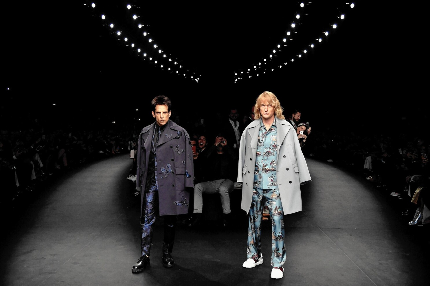 Zoolander 2 Borrows Some Of The Fashion World S Tricks To Build Buzz Los Angeles Times