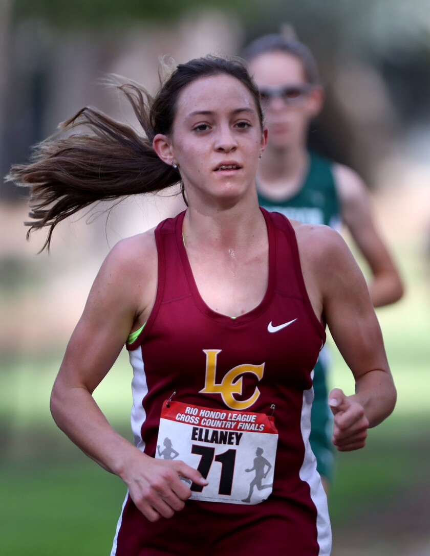 Photo Gallery: La Canada High cross country teams take second in league finals