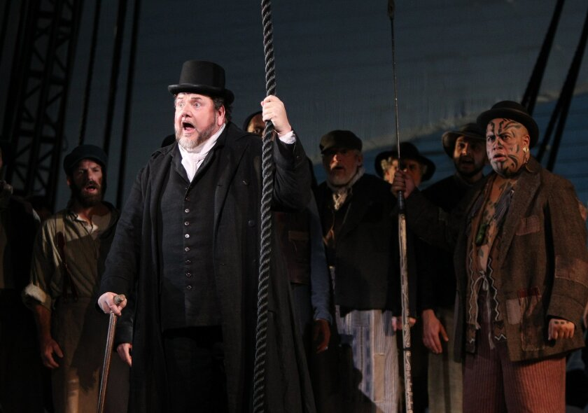 The opera's 2012 production of Moby Dick. [U-T file]