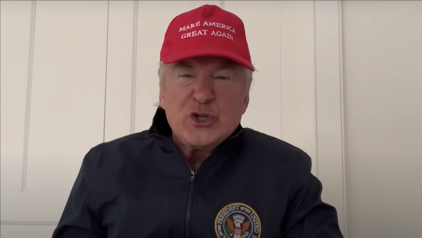 Alec Baldwin plays President Trump for the season 45 finale of 'Saturday Night Live'