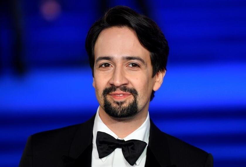 El actor estadounidense Lin-Manuel Miranda asiste a la presentación europea de la película ''El regreso de Mary Poppins'', en Londres (Reino Unido),el 12 de diciembre de 2018, cuyo estreno oficial será el próximo 19 de diciembre de 2018 en Estados Unidos y dos días después, el 21, en Reino Unido. EFE/Archivo