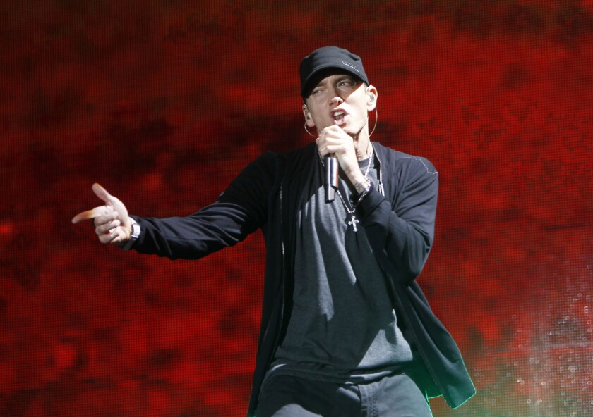 """Eminem has released a new single, """"Campaign Speech."""""""