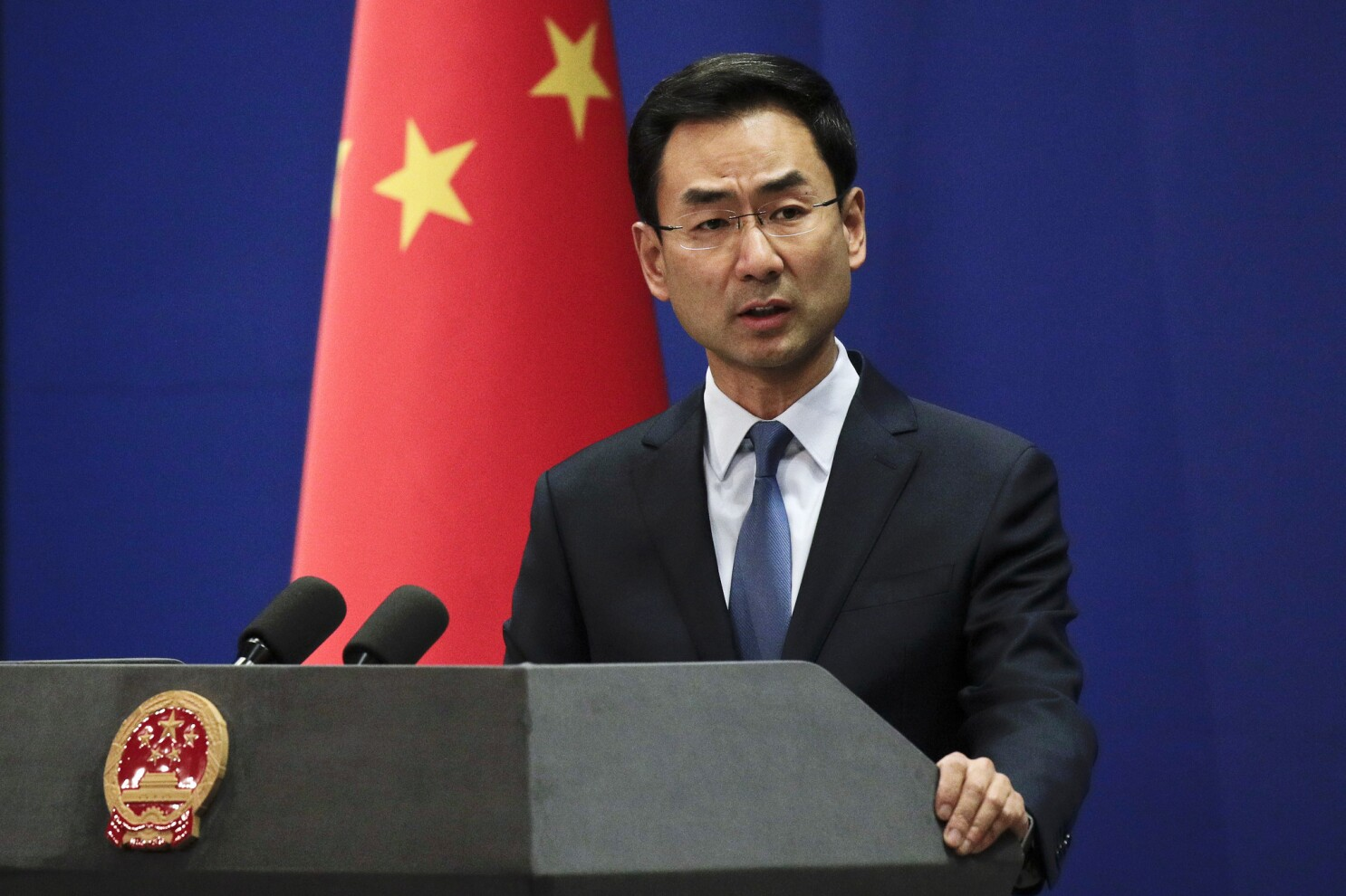 China says it has detained a British consulate staffer for 15 days
