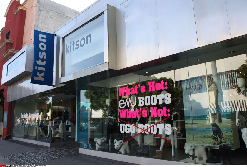 Boutique chain Kitson is going out of business