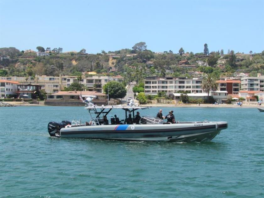 Vista de una de las nuevas embarcaciones de la Oficina de Aduanas y Protección Fronteriza (CBP) hoy, lunes 1 de agosto de 2018, en San Diego, California (EE.UU.). EFE