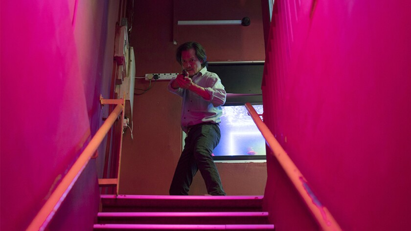 "Peter Yu in ""A LAND IMAGINED."" Credit: Netflix"