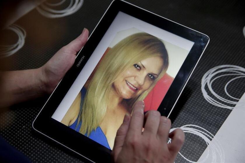 Fotografía de Pilar Garrido Santamans, la valenciana de 34 años secuestrada el 2 de julio en el noroeste del estado de Tamaulipas, México, cuando se desplazaba en coche con su marido y su hijo. EFE/Archivo