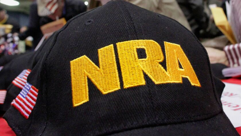 Wells Fargo's involvement with the National Rifle Assn. stemmed from the bank's 2008 purchase of Wachovia.