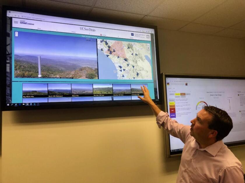 Brian D'Agostino, director of fire science and climate adaptation at San Diego Gas & Electric