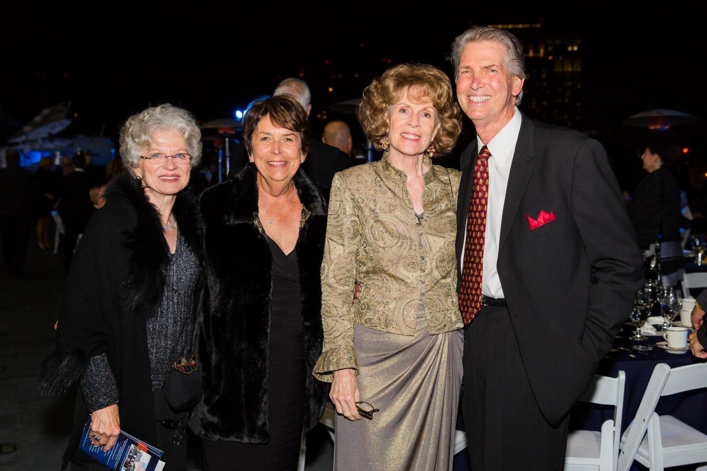 Gail Kendall, Judy Arendsee, Sue and Bill Weber