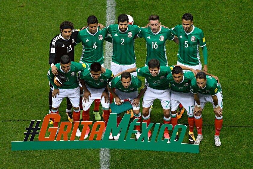 Selección mexicana de futbol.