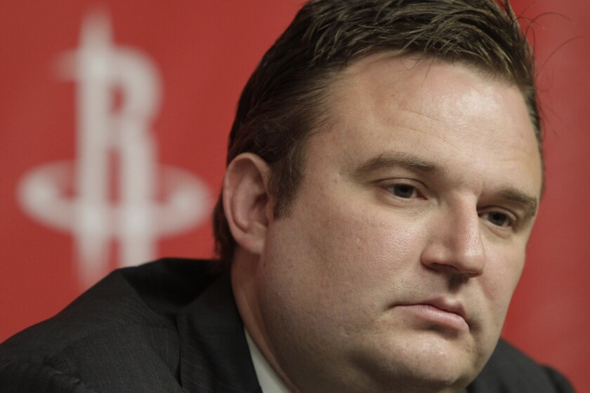 Rockets GM Daryl Morey tweeted support for Hong Kong protesters on Sunday.