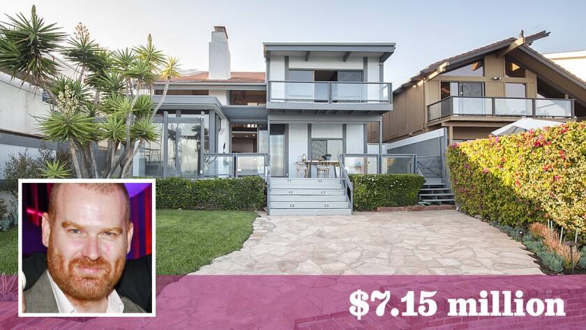 Vice Media President Andrew Creighton has bought an Edward Fickett-designed home in Malibu for $7.15 million.