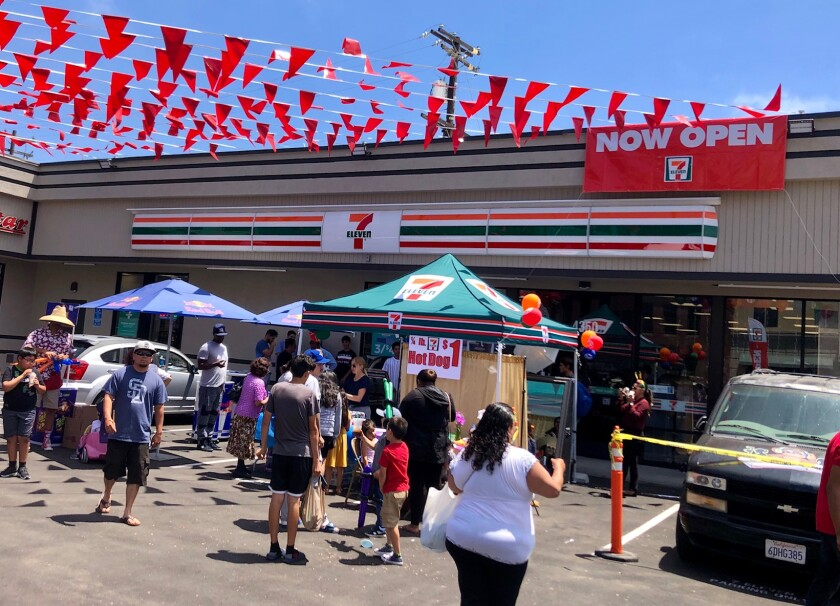 7-11 opens in City Heights