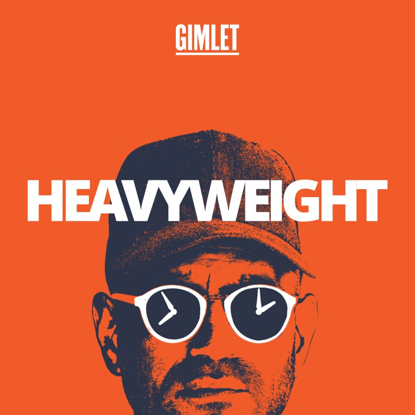 """Heavyweight"" is a podcast hosted by Jonathan Goldstein."