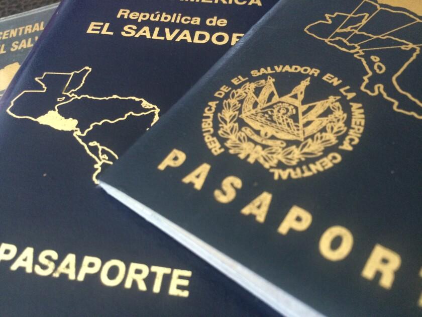 Pasaportes de El Salvador